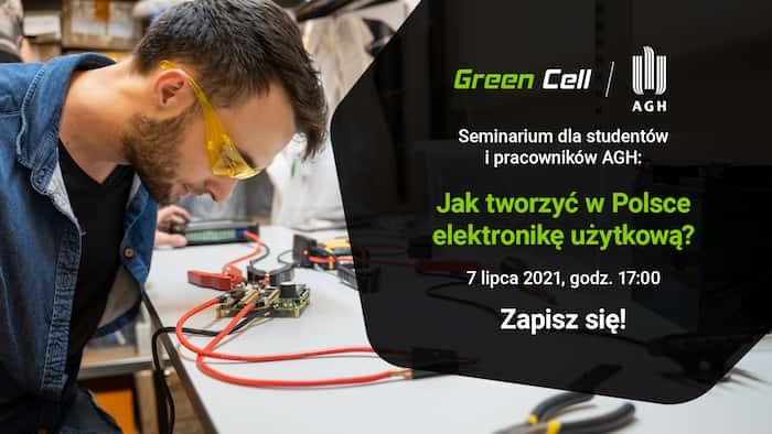Seminarium GreenCell dla studentów i pracowników AGH