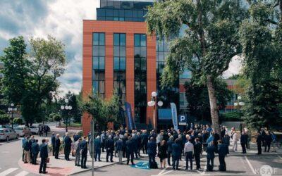Nowy budynek Wydziału EAIiIB AGH
